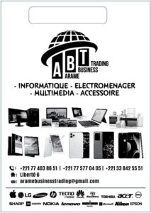 Arame Business Trading - Electroménager Sénégal